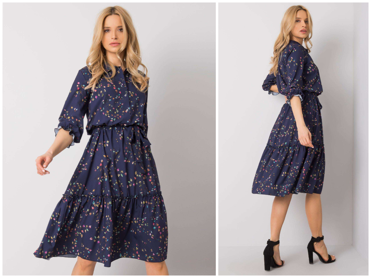 Розкльошена сукня для груші з магазину ebutik.com.ua