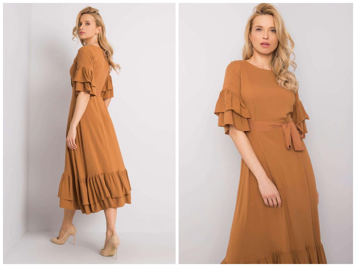 Сукня для груші з воланами в магазині ebutik.com.ua