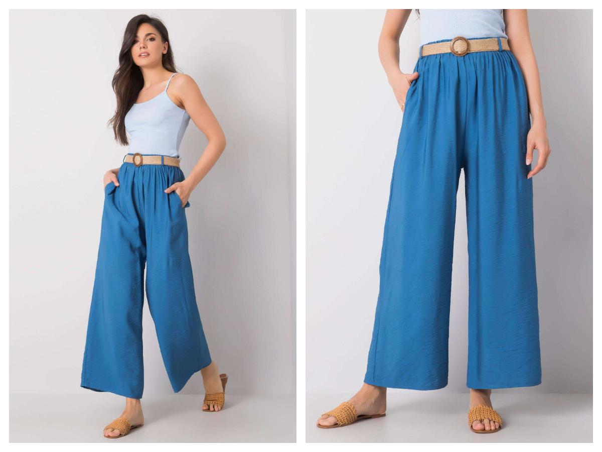 Широкі штани – звиваючі фасони на теплі дні